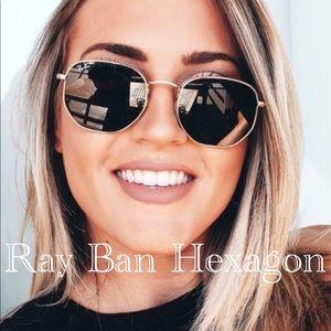 💯☝️Ray Ban Hexagonal Sunglasses 🕶😎